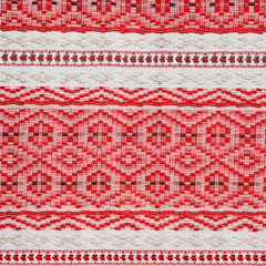 embroidered ethnic Belarus pattern