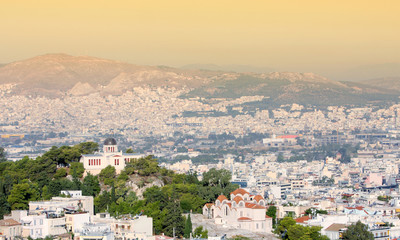 National Observatory in city of Athens