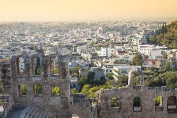 Odeon of Herodes Atticus in Greece