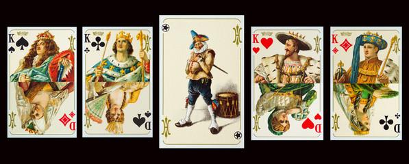 Spielkarten - Der Hochzeitslader der Kaiserpaare