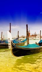 Detail of Gondola in Venice