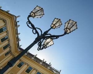 Schönbrunn Palace street lamp