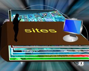 folder of sites