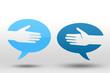 poignee de main reseau sociaux