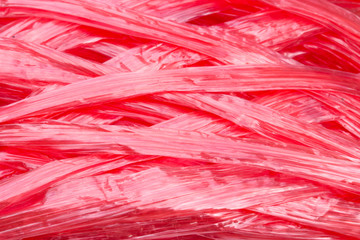 plastic rope color red