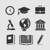 Set of symbols education - 70066745