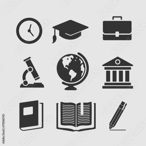 Set of symbols education