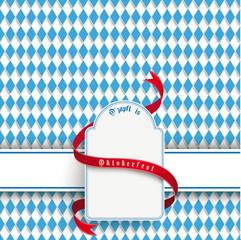 Bavarian Oktoberfest Flyer Banner Emblem
