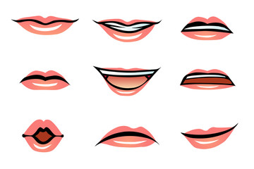 Vector Human Lips (female)