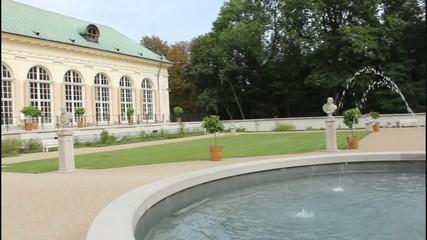 Old Pomaranch in Park Warsaw