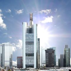 Frankfurt strahlend