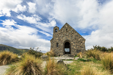The Church of the Good Shepherd beside Lake Tekapo
