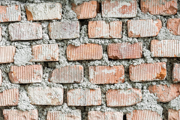 Red Brick Seamless Texture background