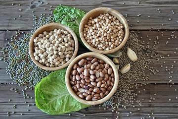 different legumes