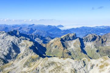 Blick auf die Allgäuer Berge