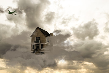 house on a cloud