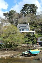 Une maison bretonne à Pont-Aven