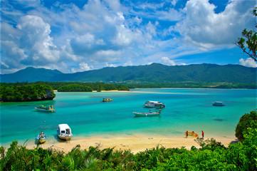 Okinawa,Kabira beach