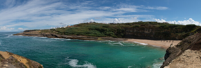 Coxos beach at Ericeira, Portugal