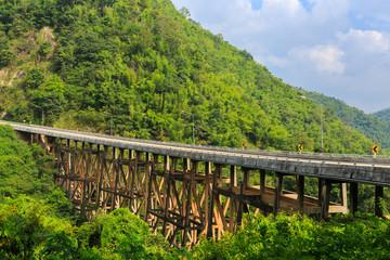 bridge in Petchabun