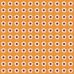 flora seamless pattern background