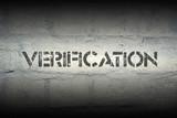 verification poster