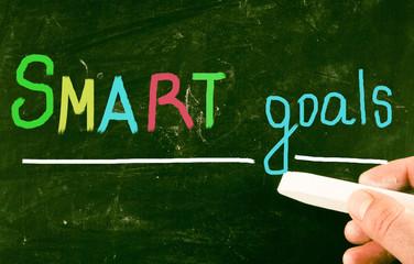 smart goals concept