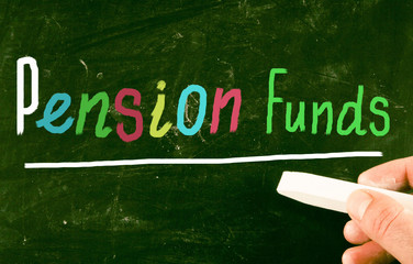 pension funds concept