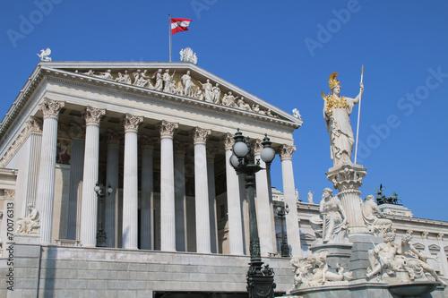 Fotobehang Wenen Wien - 008 - Parlament