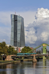 Neubau der EZB in Frankfurt am Main