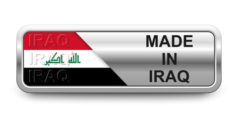 Made in Iraq Button
