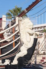 Old ship detail