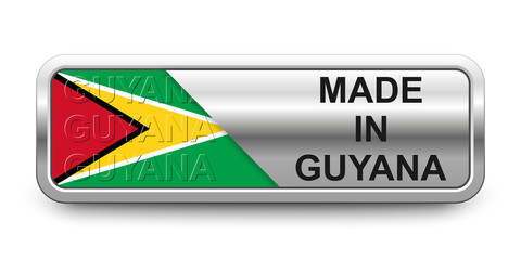 Made in Guyana Button