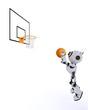 Robot Basketball player