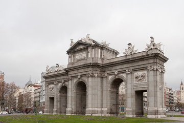 Arch of Triumph in Madrid