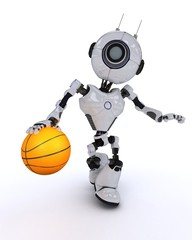 Robot Basketball player