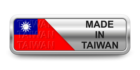Made in Taiwan Button