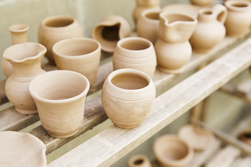 Container clay artisans
