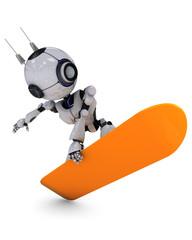 Robot Snowbaorder
