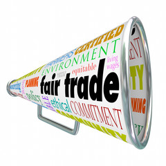 Fair Trade Megaphone Bullhorn Supply Chain Sustainable Environme