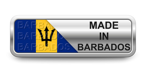 Made in Barbados Button