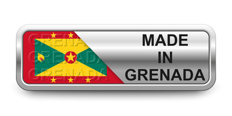 Made in Grenada Button