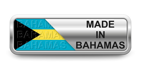 Made in Bahamas Button