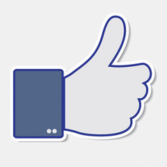 Like it, thumb up icon