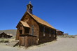 canvas print picture - Bodie is a ghost town in the Bodie Hills east of the Sierra Neva