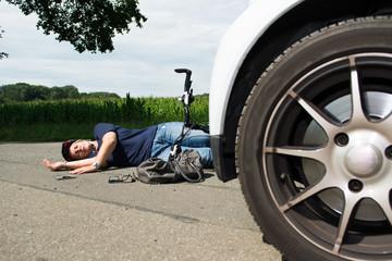 frau verunglückt beim unfall mit dem fahrrad