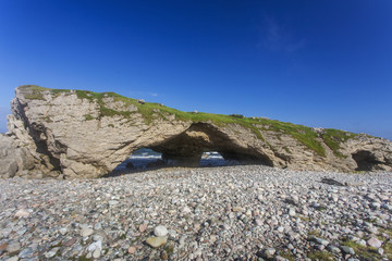 The Arches rock formation, Gulf of St. Lawrence, Newfoundland