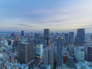 大阪の高層ビル