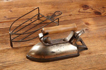 antique electric iron