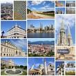 Austria - Vienna - travel photos collage